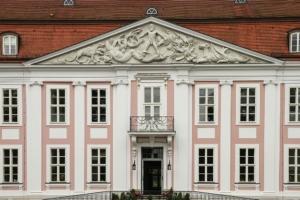 Berlin Schloss Friedrichsfelde - Lesbarkeit Text