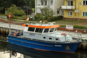 Ueckermuende am Hafen - Risiko und Entscheidung