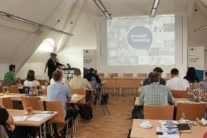 Crowdfunding Vortrag, Leipzig