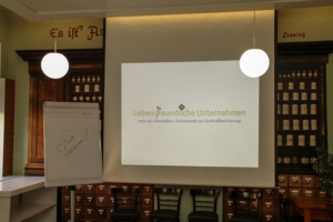 Workshop Lebensfreundliches Unternehmen in historischem Ambiente