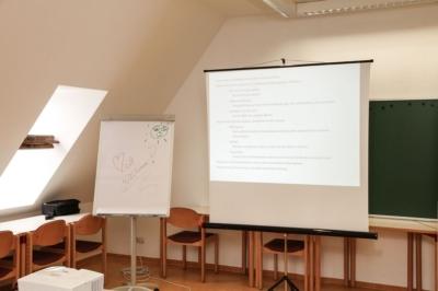 Kohren-Sahlis - Vor dem Workshop Instrumente zur Fachkräftesicherung und lebensfreundliches Unternehmen