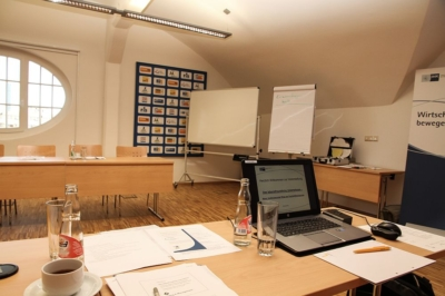 Arbeitsraum zum Workshop Lebensfreundliches Unternehmen in Leipzig