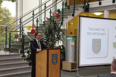 Erster Tag Wirtschaft - Hermann Winkler Europaabgeordneter (CDU)