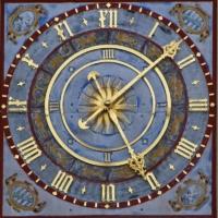 Auf dem Bild: Uhr am alten Rathaus in Leipzig - Titel: Arbeitszeitbericht 2016 der BAuA