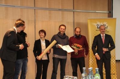 """Der dritte Preis bei """"Ab in die Mitte 2016"""" ging an die Stadt Torgau."""