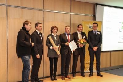 Den 1. Preis von Ab in die Mitte 2016 holte sich die Stadt Plauen.