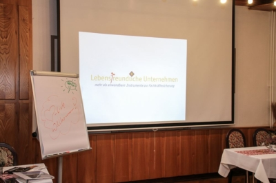 Frauwalde - Workshop zur Fachkräftesicherung, unser Workshopraum