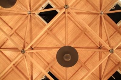 Heidekonferenz Dübener Heide 2016 in Bad Düben - Decke im großen Saal des HEIDE SPA