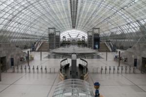 Leipziger Messe Glashalle in Ruhe - Immer wieder ein beeindruckendes Motiv!