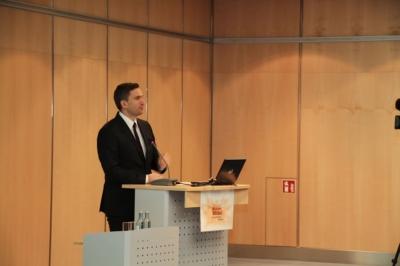 Schirmherr Martin Dulig, Sächsischer Staatsminister für Wirtschaft, Arbeit und Verkehr und stellv. Ministerpräsident des Freistaates Sachsen