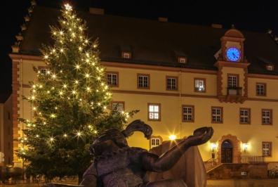 Eilenburg - Weihnachtsmarkt in der Weltkleinstadt, Dezember 2016