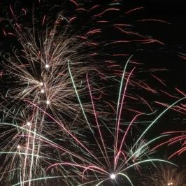 Eilenburg - Silvester 2016 - Alles Guten in 2017, Feuerwerk