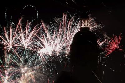 Eilenburg - Silvester 2016, Feuerwerk und Alles Gute!
