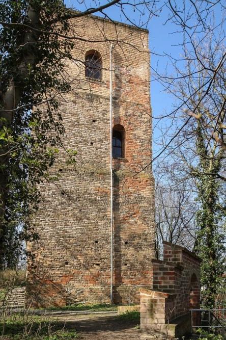Burgberg zu Eilenburg - Der Sorbenturm lädt zur Aussicht ein!