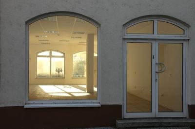 Delitzsch - Schulze-Delitzsch-Center, fast 100 Prozent Leerstand der Gewerbeflächen