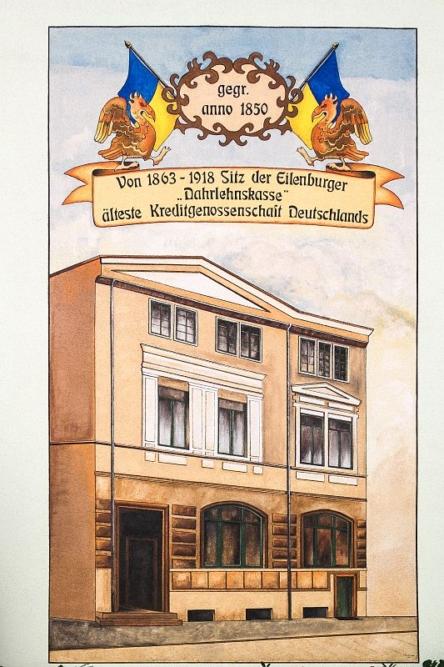 Die erste Kreditgenossenschaft in Deutschland wurde natürlich in Eilenburg begründet!