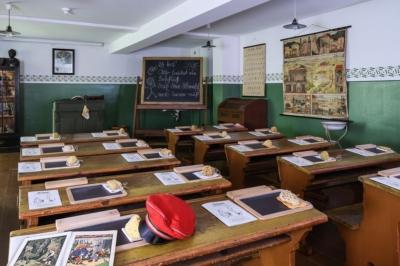Eilenburg -Vortrag zur Sonntagsschule im historischen Klassenzimmer des Museums, Thema: S. Hahnemann von 1801 bis 1804 in der Stadt an der Mulde