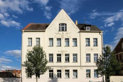 Eilenburg - Ein Haus am Nordring am Rande der ehemaligen Stadtmauer