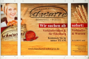 Eilenburg - Bäckerei Schwarze sucht im Zentrum von Eilenburg Verkäuferinnen und Verkäufer ab sofort für Neueröffnung!