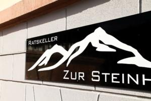 Zweiter Stammtisch in 2017 des TGV Eilenburg im Ratskeller Zur Steinhoe in Eilenburg - Thema: Werbung für kleine Unternehmen
