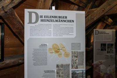 Die Sonderausstellung im Stadtmuseum Eilenburg - Ilburg - Eulenburg und die Heinzelmännchen