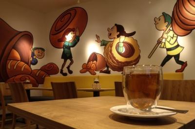 Blick ins Heinzelmännchen-Café in Eilenburg am Torgauer Tor