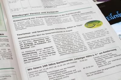 Termin: Vortrag beim TGV-Eilenburg e. V. Ende August 2017