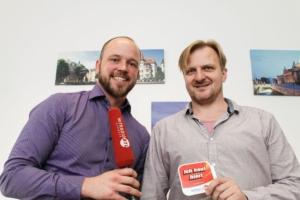 bilder-plus.de hat Besuch von HITRADIO RTL SACHSEN - kostenfreie Initiative des Senders unterstützt hiesige Wirtschaft