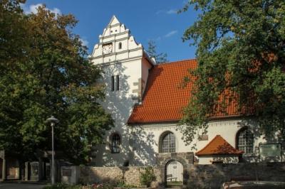 Coswig - Alte Kirche der Stadt, Spaziergang vor dem Workshop