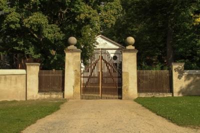 Neue Wege zur Fachkräftesicherung in Nossen - Blick auf einen Teil des Klosters Altzella