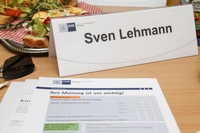 Unternehmertreffen bei der IHK zu Leipzig - Referenzmarketing