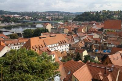 Workshop Fachkräftegewinnung und Fachkräftesicherung in Meißen - Hier Blick über die Altstadt