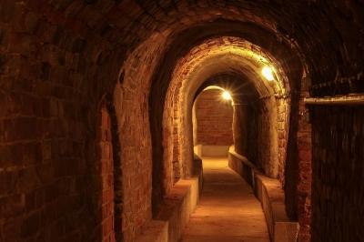 Kellergang aus romanischer Zeit in den Eilenburger Bergkellern