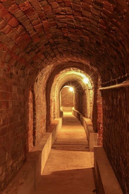 Eilenburg - Bergkeller romanischer Bogengang