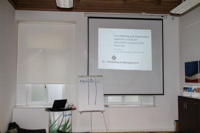 Vortrag in Leipzig bei der Creditreform - Führung und Organisation als Instrumente der Bindung und Gewinnung von Mitarbeitern