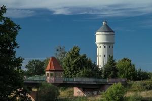 Eilenburg - Muldebrücke mit Wasserturm - Ein Mittelzentrum in Sachsen