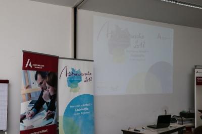 Vortrag beim Erfahrungsaustausch zum Lern- und Experimentierraum unternehmensWert:Mensch plus in Leipzig