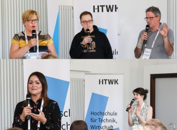 HR Innovation Day 2019 an der HTWK in Leipzig - Fishbowl-Diskussion