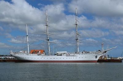 Gorch Fock 1 im Stralsunder Hafen
