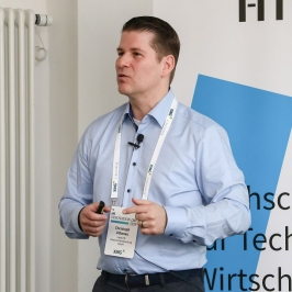 HR Innovation Day 2019 an der HTWK in Leipzig - Christoph Athanas